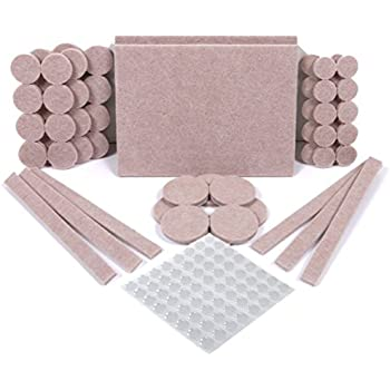 Assorted Heavy Duty Felt Pads 113 Pcs Furniture Pads