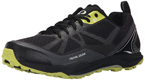 PEARL IZUMI Men's x-alp Seek VII-m Cycling Shoe, Black/Shadow Grey, 41 EU/7.7 D US (Best Mtb Shoes For Wide Feet)