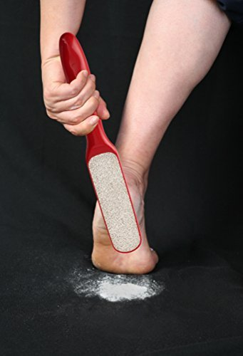 Probelle 2-Sided Hypoallergenic Nickel Foot File for Callus Trimming and Callus Removal, Red, 4 Ounce PRONF002