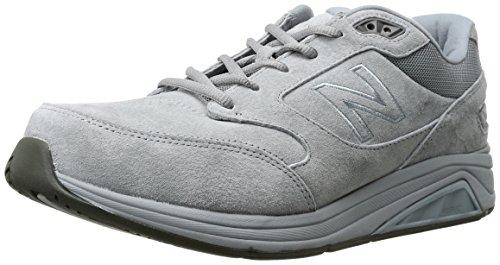 New Balance Men's Mens 928v3 Walking Shoe Walking Shoe, Grey/White, 12 D US