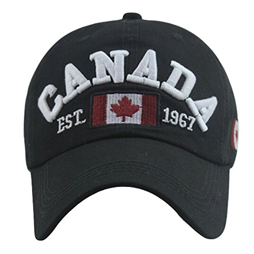 8107fa96f8e56 NEW FACUP I m On The Eh Team Canada Canadian Unisex Washed Twill Cotton  Baseball