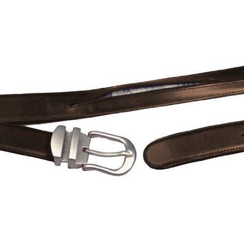 Winn International Leather Money Belt in Brown