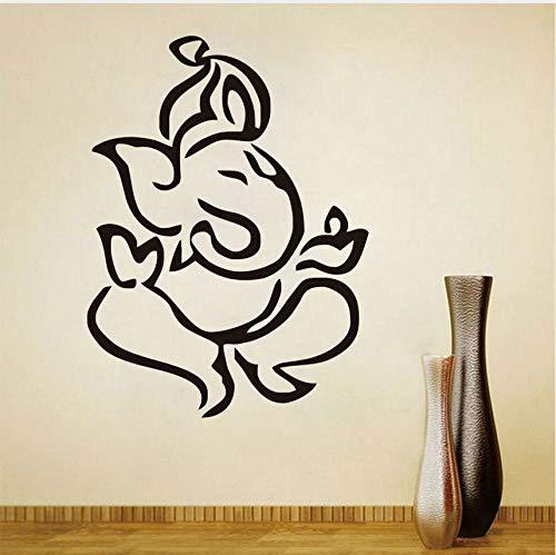 Guyuell Elefante Cabeza Tatuajes De Pared Elefante Indio ...