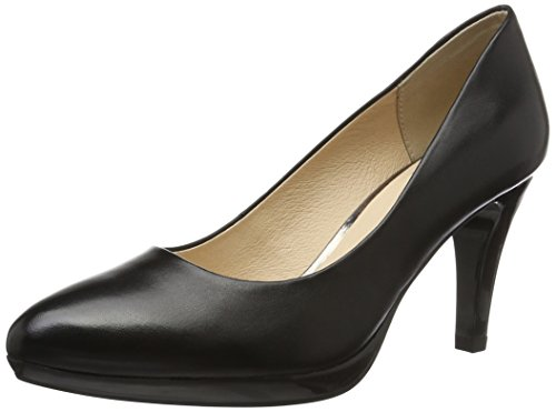 Footwear Caprice Black Pumps Women's Nappa Black 22414 Z1Pd1q