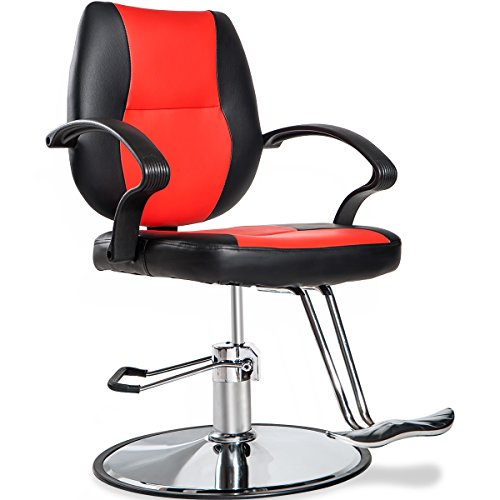 Price comparison product image Merax Classic Hydraulic Barber Chair Styling Salon Beauty Shampoo Spa Equipment (Black)