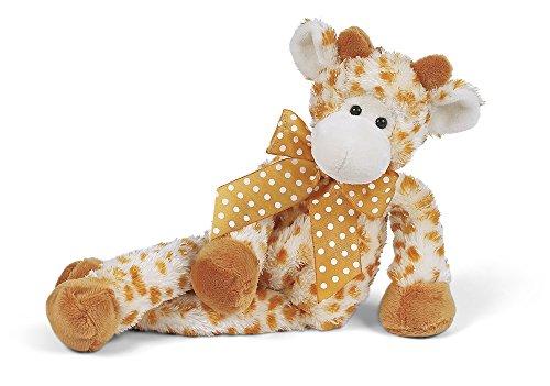 "Bearington Lean Beans Stretch Long Legged Giraffe, Plush Stuffed Animal Toy 14"""