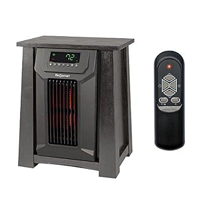 LifeSmart LifePro LS-PCFP1036 150 Sq Ft Portable Infrared Quartz Heater w/Remote