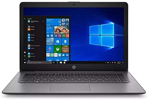 HP Stream 14inch Laptop, AMD A4-9120 Processor, 4GB DDR4 RAM, 32GB SSD, AMD Radeon R3 Graphics, WiFi, Bluetooth, HDMI, Win10 (Renewed) (Black/A4-9120)