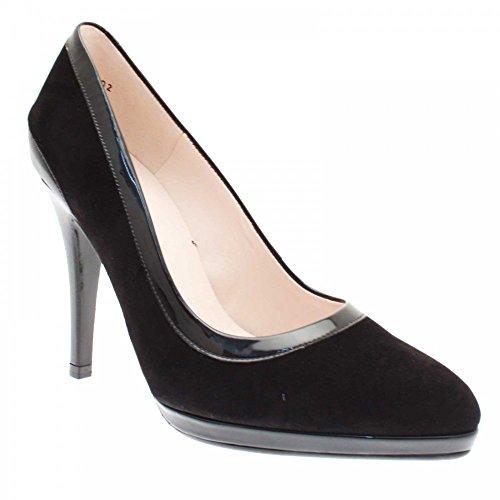 Henrike Court Shoe Blk Suede