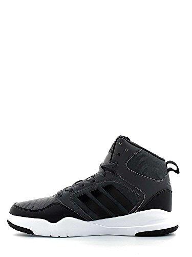 adidas Cloudfoam Rewind Mid, Scarpe da Basket Uomo, Grigio (Grpudg/Grpuch/Negbas), 40 EU