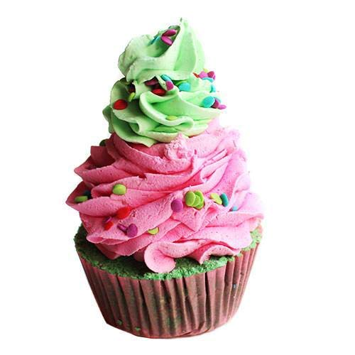 Sour Watermelon Cupcake Bath Bomb