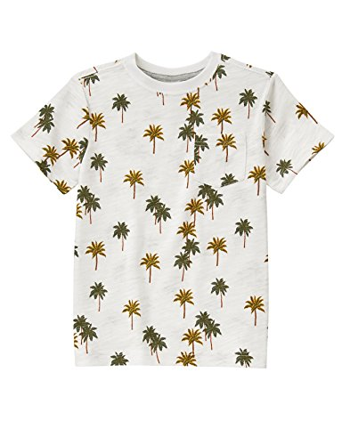 Price comparison product image Gymboree Big Boys' His Easy T-Shirt,  Palm Tree Multi,  12
