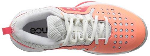 Adidas - Barricade Classic Bounce - S78395 - Color: Blanco-Gris-Rosa - Size: 38.0
