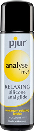 Pjur Analyze Me Relaxing Anal Glide Silicone Lubricant, 8.5 Ounce