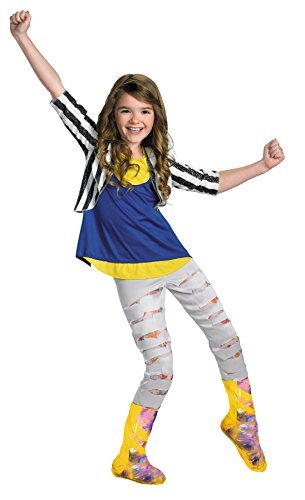 Disguise Girls Shake It up Cece Deluxe Kids Child Fancy Dress Party Halloween Costume, M -