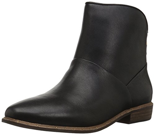 UGG Women's Bruno Ankle Bootie, Black, 8 M US]()