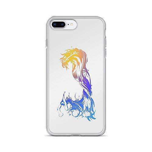 iPhone 7 Plus/iPhone 8 Plus Case Clear Anti-Scratch Final Fantasy X, Final Fantasy Cover Phone Cases for iPhone 7 Plus iPhone 8 Plus -