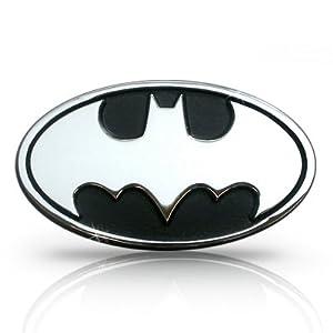 amazoncom batman 3d chrome metal auto emblem official