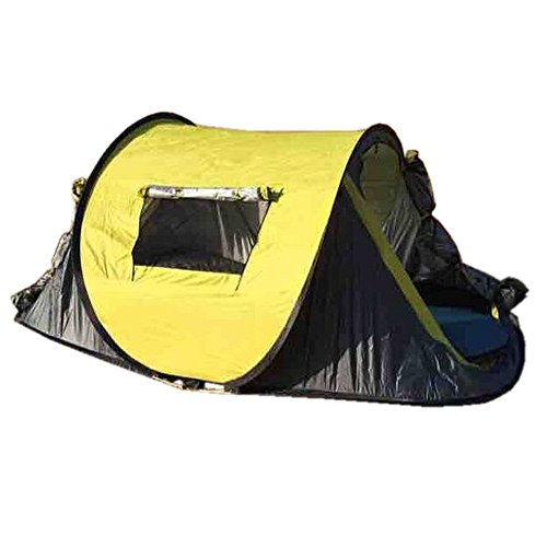 Ezyoutdoor Popup Beach Tent Portable Foldable Outdoor Hiking Travel Camping Shelter Waterproof Backpacking Tents For 3 4 Person Portable Hiking Pack Shelters