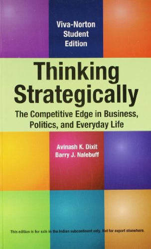 Strategically pdf thinking dixit