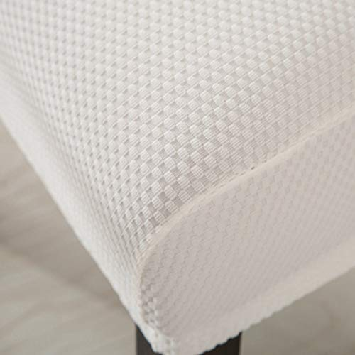 TANGOGO Knitted Fabric Spandex Chair Cover One Piece Universal Stretch Customize Dining Room Chair Slipcovers