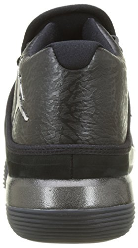Nike Herren Jordan Super.Fly 2017 Basketballschuhe Schwarz (Black/Chrome-anthracite)