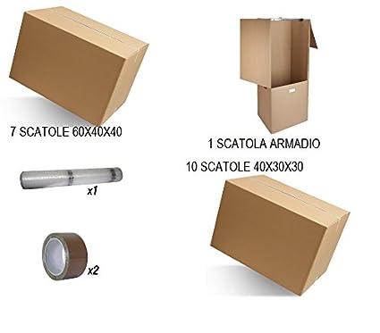 15 IMBALLAGGI 2000 Scatole Di Cartone Un Onda Misura 40x30x30 Trasloco Scatoloni