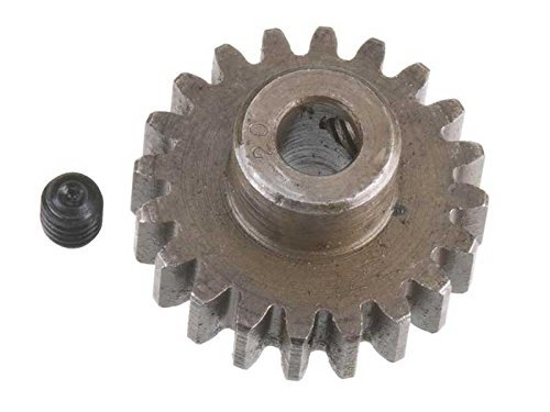 Robinson Racing 1220 Extra Hard High Carbon Steel Motor Pinion Gear, 5Mm Bore, 1.0 Mod Pitch, 20 Tooth