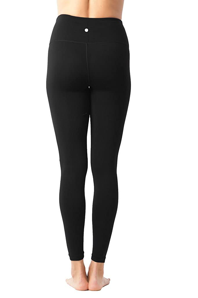 adc69660bc5 Amazon.com  90 Degree By Reflex High Waist Power Flex Tummy Control Leggings   Clothing
