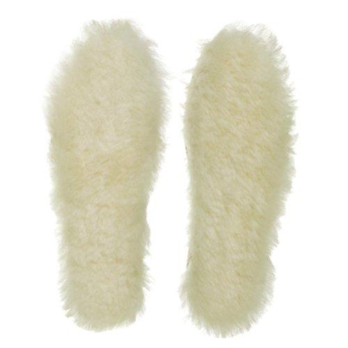 Women Man Sheepskin Shoe Boots Insoles 39 - 4