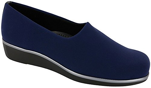 Picture of SAS Women's Bliss Slip On Shoes Navy Size 8.5 W - Wide