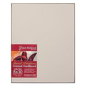 Jack Richeson 1711224 Richeson Umber Wash Toned Gessoed 1//8 Hardboard 12x24