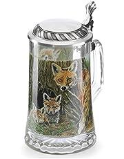 Artina Beer Stein Fox 0.5 Liter