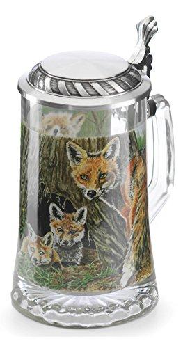 Artina Beer stein fox 0.5 liter Artina 93341
