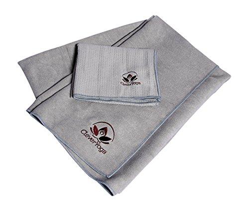 Yoga Addict Yoga Mat Towel And Hand Towel Combo Set: BeachTowel,Shufua Durable And Soft Tablecloth Beach Towel
