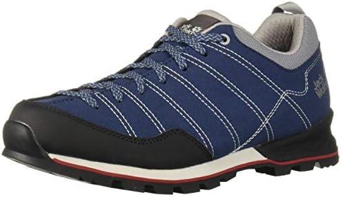 good looking details for reasonably priced Jack Wolfskin Scrambler Low Men's Hiking Shoe, Blue/Black ...