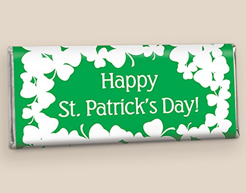 Luck of the Irish St. Patrick's Day Fully Assembled HERSHEY'S Bars (12 Count)