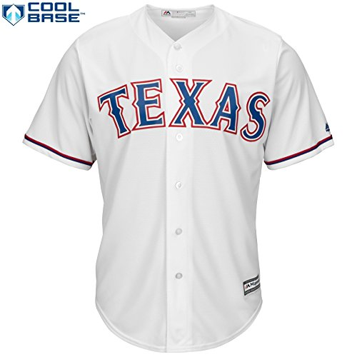 Cole Hamels Texas Rangers #35 MLB Men's Cool Base Home Jersey (XXlarge) – DiZiSports Store