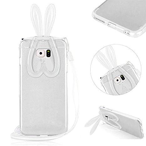 Transparente Carcasa para Samsung Galaxy S6 TPU silicona ...