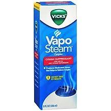 Vicks Vapo Steam Liquid Medication for Hot Steam Vaporizers - 8 oz, Pack of 4