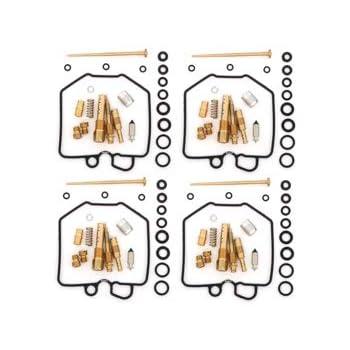 Set of 4 Deluxe Carburetor Rebuild Kit Honda CB650 81-82 CB650C 81 CB650SC 82