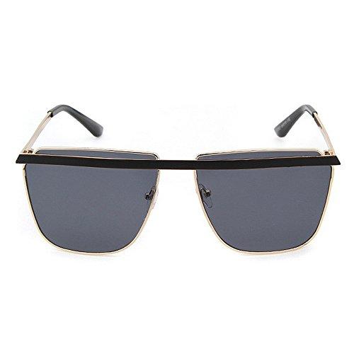 UV la Driving C1 Simple Nuances Designer Lunettes pour Summer Soleil Vacation Full Beach de Vintage pour nouveauté Hommes KOMEISHO Protection Femmes Frame Brillants 6qBwxTd6