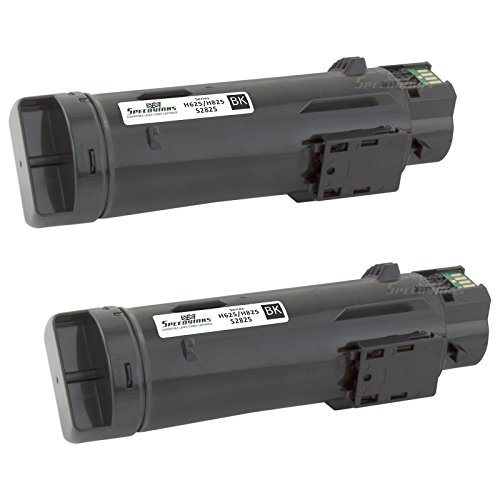 Speedy Inks - 2PK Compatible Black Toner Cartridge N7DWF for Dell H625/H825 Laser Printers for use in Dell H625cdw,Dell H825cdw,Dell S2825cdn