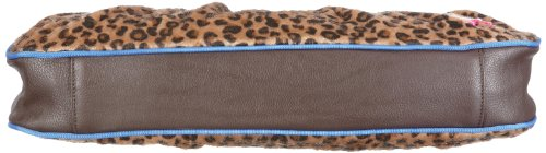 Poodlebags Funkyline  - jungle - Saturday - chocolate 330711FC - Bolsa al hombro para mujer Marrón