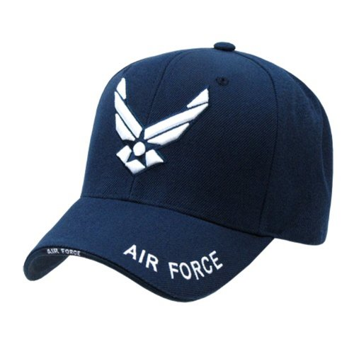 Rapid Dominance Air Force Wings Ball Cap(Navy Blue, One Size)