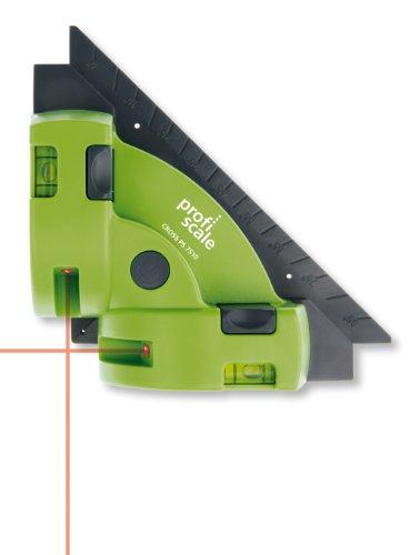 BURG-WÄCHTER Winkellaser, Fixierung von glatten Oberflächen, CROSS PS 7510