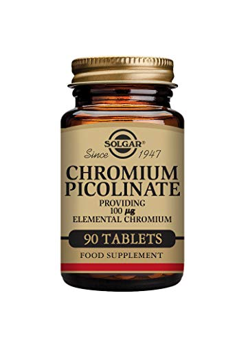Solgar Chromium Picolinate 100 µg Tablets - Pack of 90