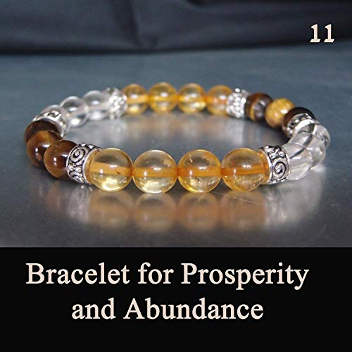 t from the Holy Land Yellow Jade, Crystal Quartz, and Tiger Eye Stretch ()