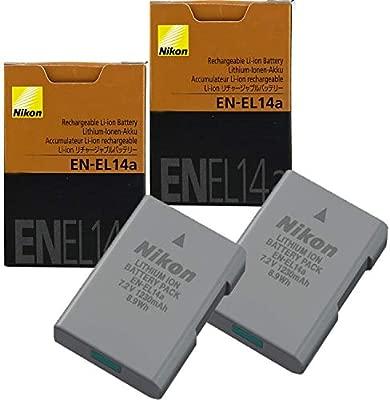 Amazon.com: Nikon EN-EL14A - Batería de ion de litio para ...