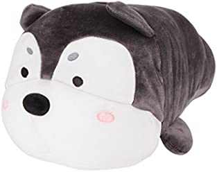 Miniso Shiba Inu Dog Soft Plush Throw Pillow 18 inch Animal Pillows Plush Toy, Super
